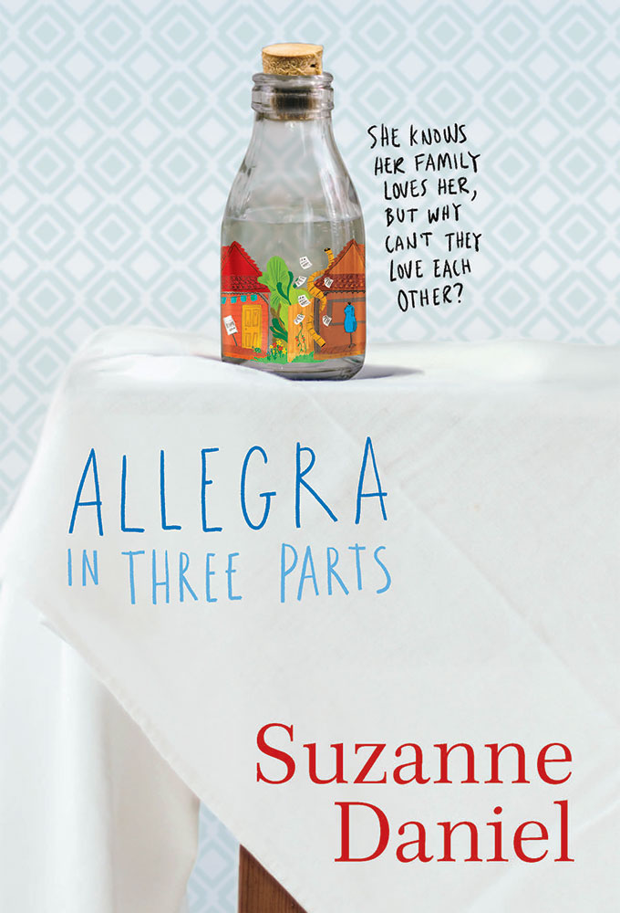 Suzanne Daniel Allegra in Three Parts
